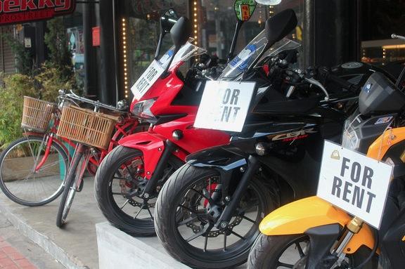 Мотобайк в аренду на Пхукете