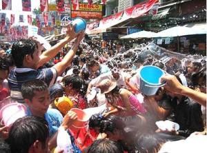 Тайский новый год Сонгкран Thailand