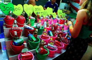 Full Moon Party Pangan buckets