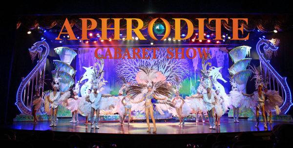 Кабаре шоу трансфеститов на Пхукете Афродита