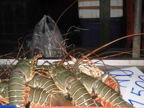 рыбный рынок на Раваи, Пхукет
