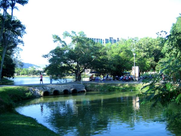 Парк Sapan Hin и Rama IX